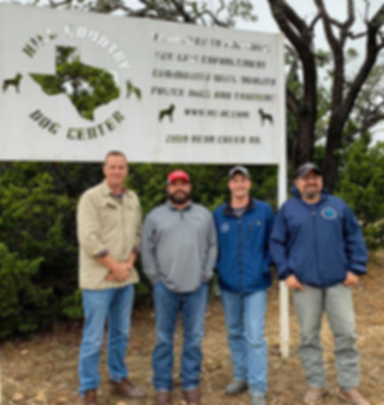 Hill Country Dog Center Team