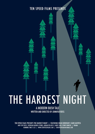 THE HARDEST NIGHT POSTERS