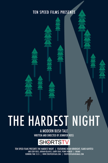 THE HARDEST NIGHT on Shorts TV in Europe and the U.S.
