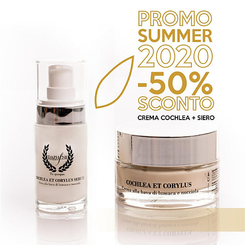 COCHLEA ET CORYLUS CREMA (50 ml) + SIERO (50 ml)