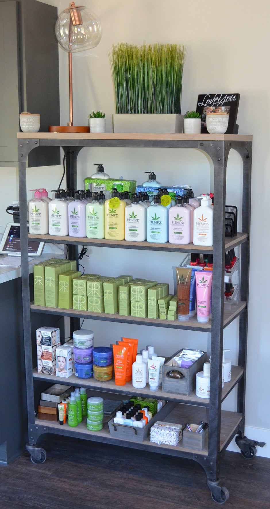 Extended range of products