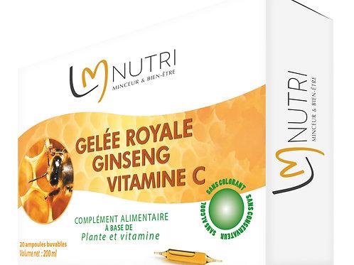 GELÉE ROYALE - GINSENG -VITAMINE C
