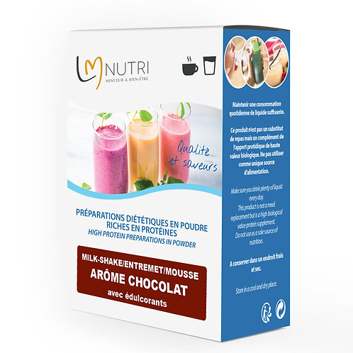 Milk-shake - Entremet - Mousse Arôme CHOCOLAT