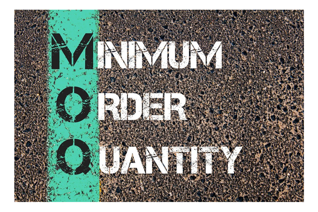 Low Minimum Order Quantities