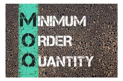 Low Minimum Order Quantities