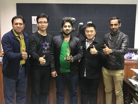 Alibaba Officials In ZK INTERNATIONAL Office Faisalabad