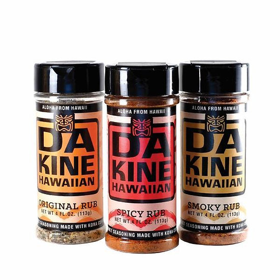Da Kine Hawaiian Sauces & Rubs