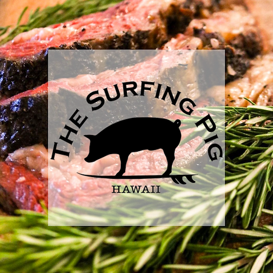 The Surfing Pig Hawaii
