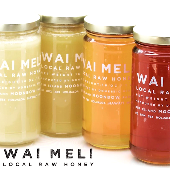 Wai Meli Local Raw Honey