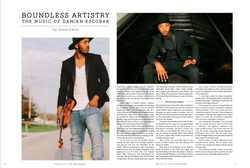 Boundless Artistry: Damien Escobar
