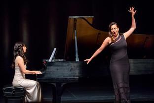 Performing with Joyce El-Khoury