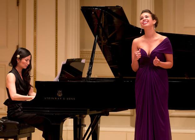 Nadine Sierra at Carnegie Hall (Photo: NY Times)