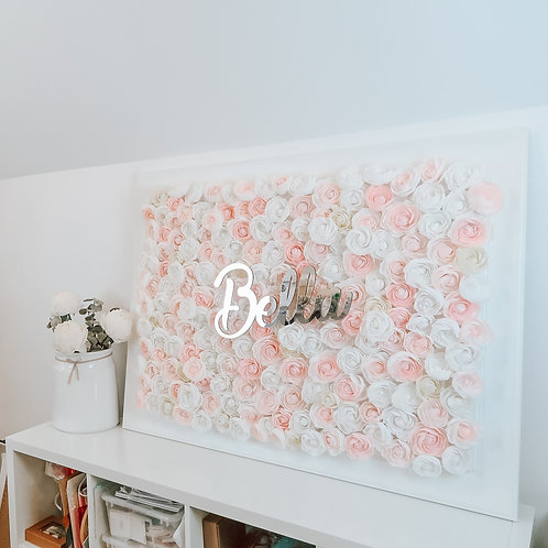 Flower Art Frame