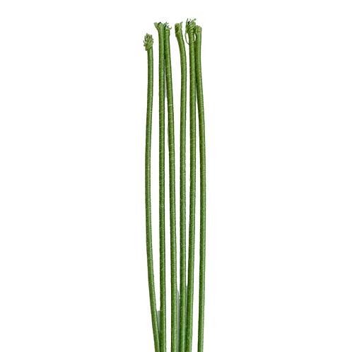 Green Cloth Stem Wire