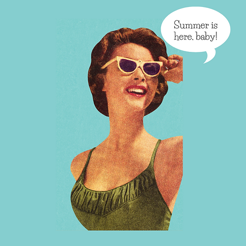 Summer is Here Babe, Illustration