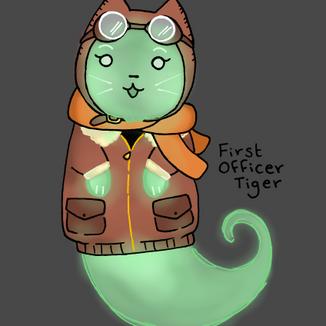 Pilot Ghost Cat