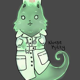 Nurse Ghost Cat