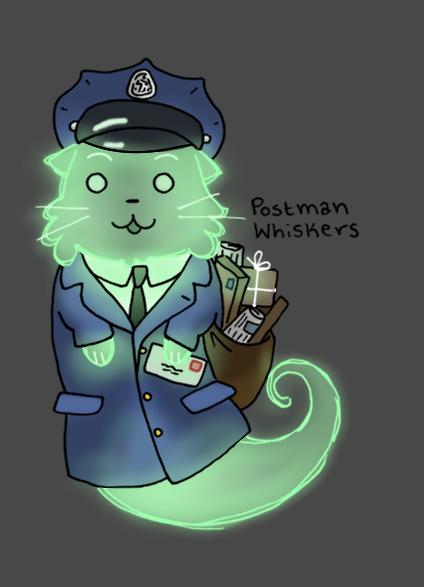 Postman Ghost Cat