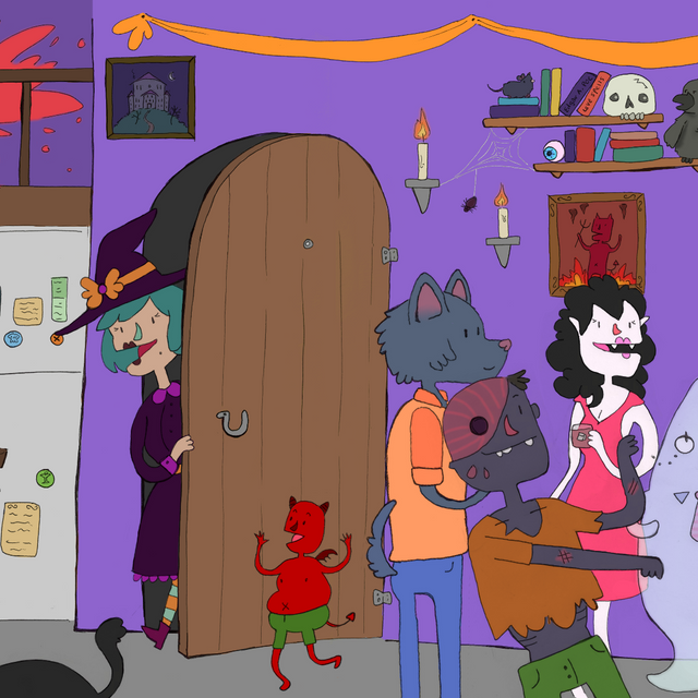 Monster Halloween Party