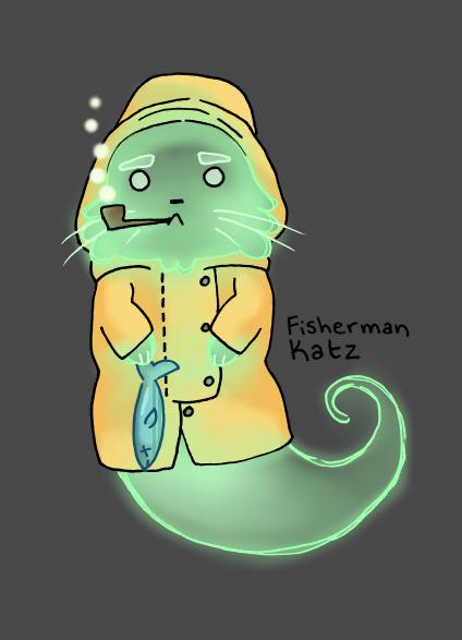 Fisherman Ghost Cat