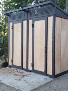 Double Stall Wishbone Decompose at Camp Tamarack Oregon