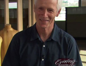 Tim O'Neill on King 5 TV's Evening Magazine Oct. 1, 2014