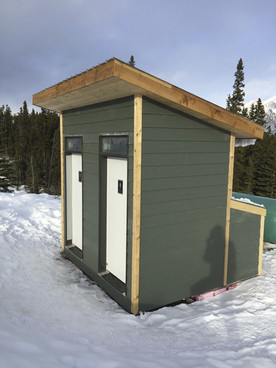 Custom two stall Decompose at Canmore Nordic Center