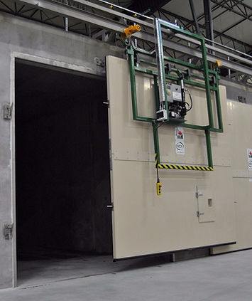 in-vessel tunnel compost system, tunnel, compost system, industrial composting, commercial composting system, aeration floor, most energy efficient, controlling leachate, best compost system, comptroller, compost technology control system, no odor compost, sealed compost system, composting in below freezing weather