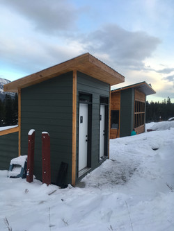 Canmore Nordic Center Toilet With Warming Shelter