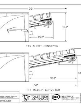 Short and Medium Conveyor Side View