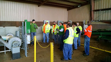 training compost operators, learn to work as a compost operator, re-train compost operators, upgrade compost facility, industrial composting, build compost facility, how to operate compost facility, made in USA, engineered compost systems