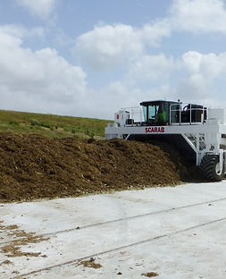 aerated turned compost pile, atp, compost system, industrial composting, commercial composting system, aeration floor, most energy efficient, controlling leachate, best compost system, comptroller, compost technology control system