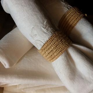 Vintage French linen