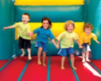 seguridad infantil en castillos hinchables