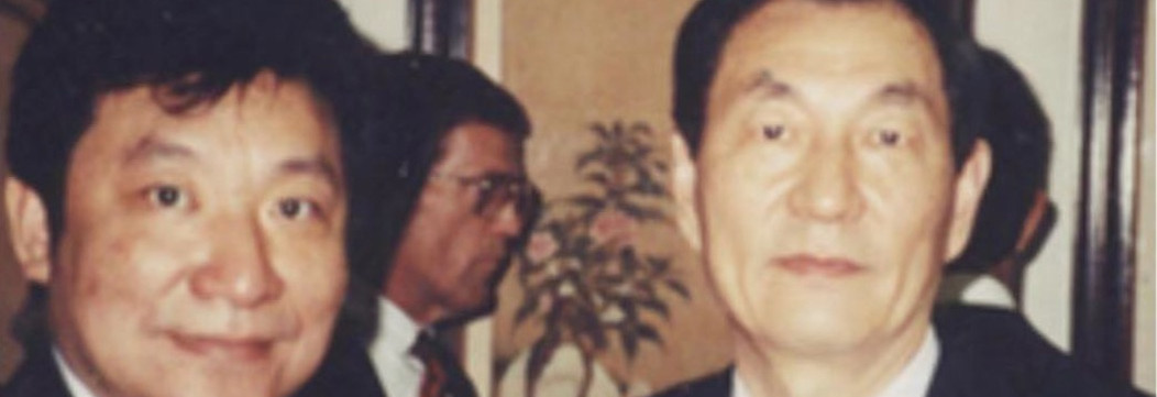 Zhu RongJi, The former Premier of the People's Rupublic of China with our President