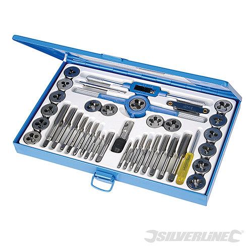 Silverline Tap & Die Expert Set 40 Piece 186811
