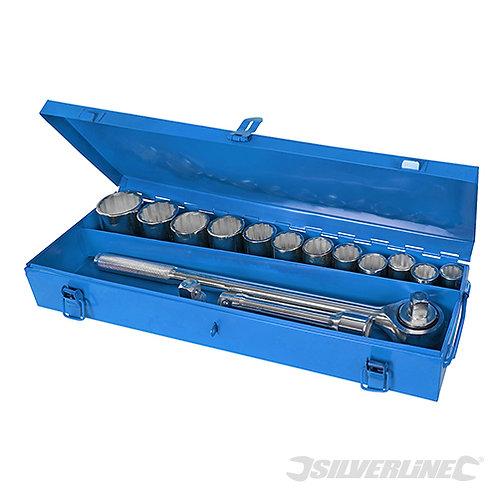 """Silverline 3/4"""" Socket Set 15pce 652142"""
