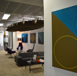 Bob Barron art in offices