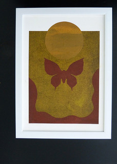 Moth and moon 1