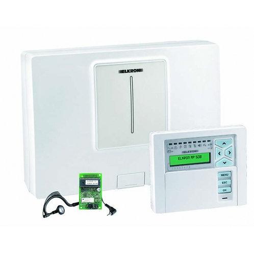 Centrale d'alarme 8 Zones extensible ELKRON-MP508