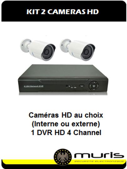 KIT 2 Caméras HD
