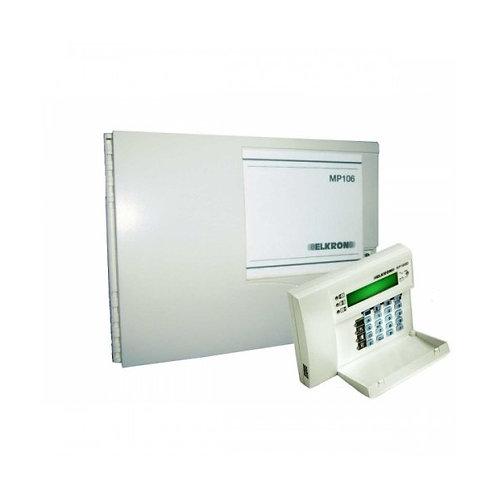 Centrale d'alarme 4 Zones extensible