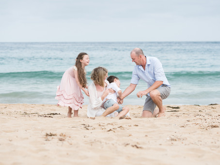 Storytelling at the Beach