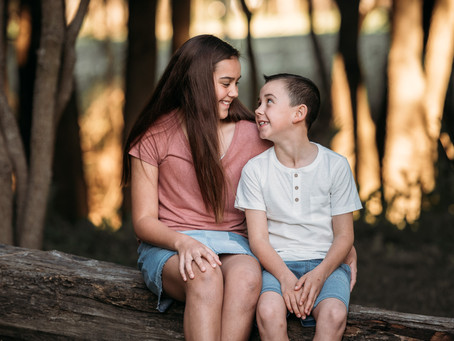 Sibling Session in Camden, NSW