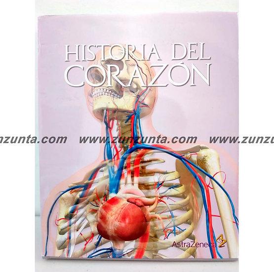 """Libro """"Historia del corazón"""""""
