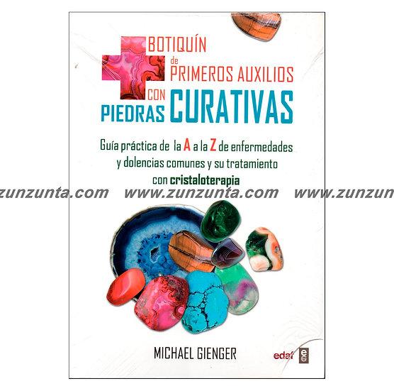 """Libro """"Botiquín de primeros Auxilios con Piedras Curativas"""""""