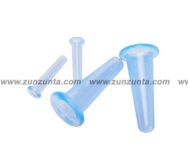 Ventosas de silicon, kit 4 piezas