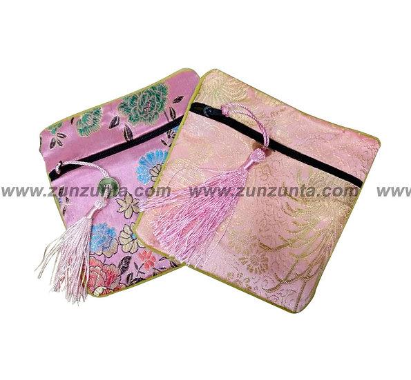 Monedero chino de seda medida