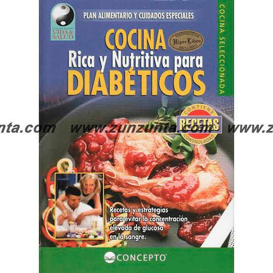 """Libro """"Cocina rica y nutritiva para diabéticos"""""""