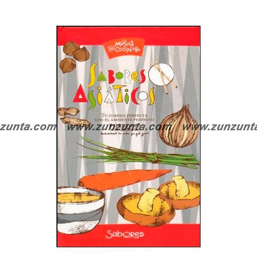 """Libro """"Música Para Cocinar Sabores Asiáticos"""""""